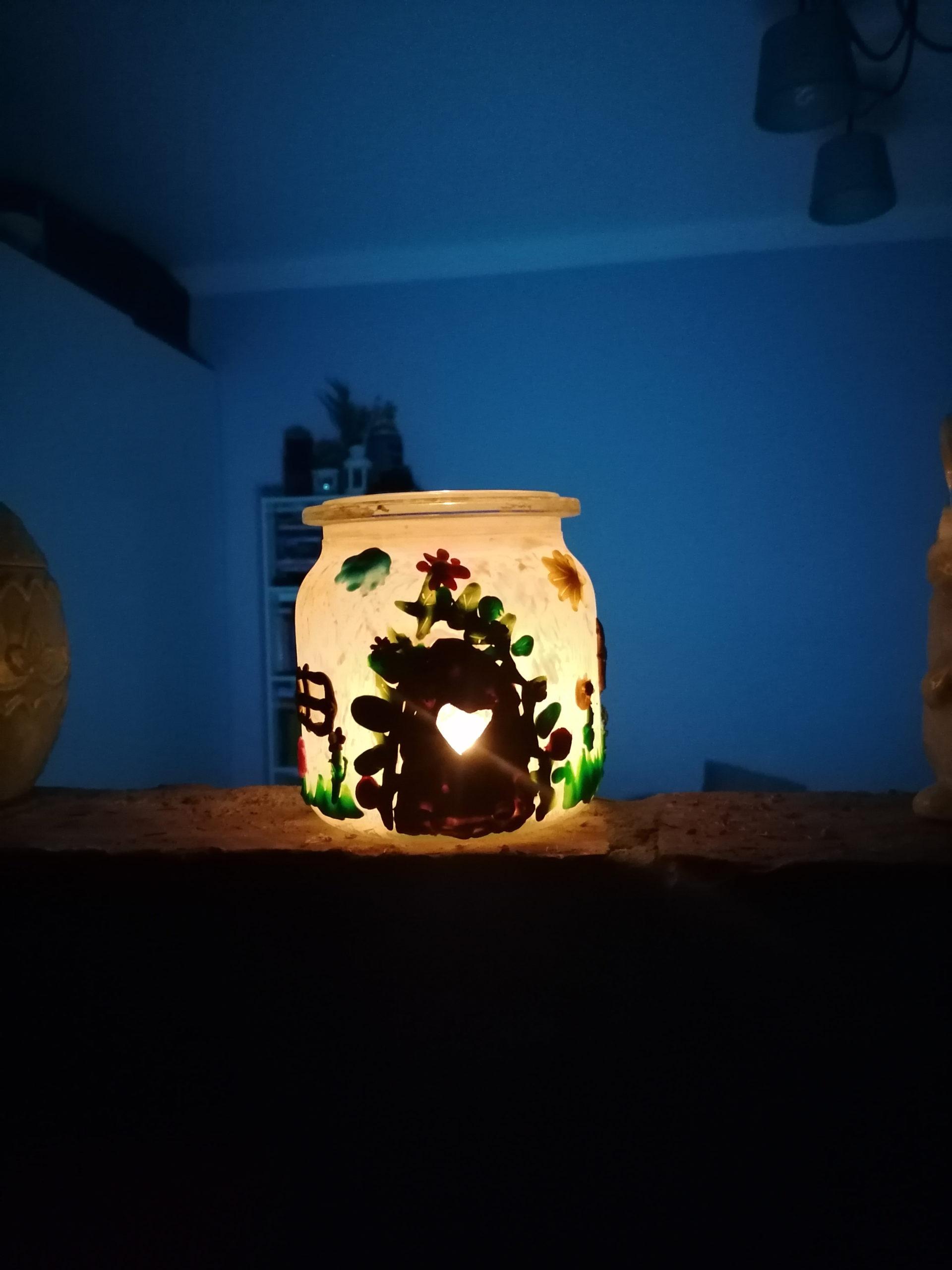 Kreatywnie z dzieckiem – wiosenny lampion.