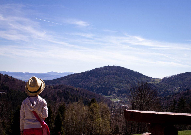 Góry z dzieckiem-Beskidy. Przełęcz Karkoszczonka: Brenna Bukowa- Chata Wuja Toma.