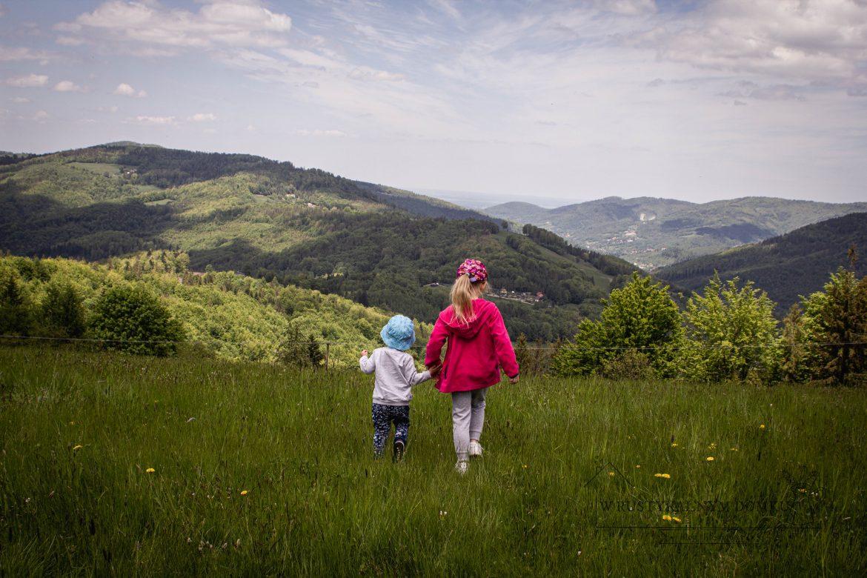 Góry z dzieckiem- Beskidy. Trzy Kopce Wiślańskie, trasa z Wisły.